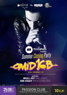 MoodyBeats Presents: Summer Closing Party with OMID 16B (UK)