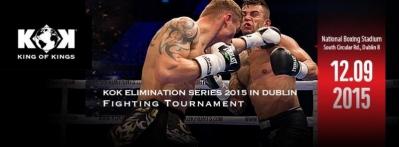 KOK kikbokso turnyras Airijoje 2015