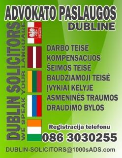 Padedame atidaryti LTD Įmones, Naujų Kompanijų registravimas Airijoje