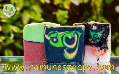 100% Real, natural & organic handmade soaps!