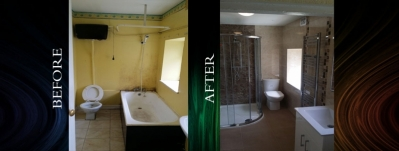 Bathroom solutions Dublin - check out our Before and After Bathroom Projects