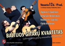 Baltijos gitarų kvarteto koncertas Dubline