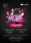 MoodyBeats 4th bday & Valentines day celebration w/ MARIUS IVANOFF, KANDY KILLERS, ZEE ZIGGY, MIND_J