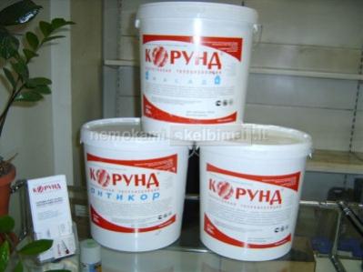 Pastatų šiltinimas dažoma termoizoliacine medžiaga korund