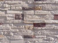 Fasadų apdailai dirbtinio akmens plytelės