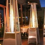 Go for Athena Flame Tower Patio Heater at Hanley's Home & Garden Centre
