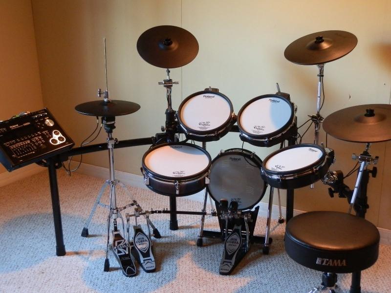 roland td 30kv s v pro electronic drum kit 1000sads. Black Bedroom Furniture Sets. Home Design Ideas