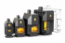 Plieniniai orinio šildymo katilai TERMOFOR