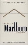 Marlboro Gold cigaretes