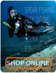 Largest spearfishing and freediving stock in Ireland