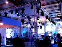 Konstrukcinės sistemos stendams, parodoms, scenoms