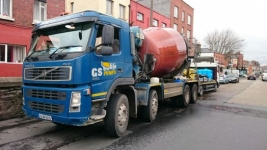 Concrete Mixer Trucks for hire in Dublin, Co. Meath, Co. Kildare, Co. Wicklow.