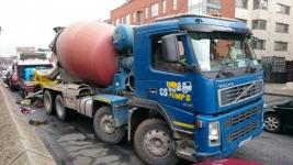 Concrete Mixer Trucks for hire in Dublin, Co. Meath, Co. Kildare, Co. Wicklow.