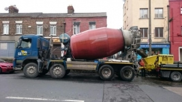 Ready Mix Concrete Volumetric Mixers Delivering Exact Amount of Concrete Concrete Dublin and County.