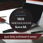 Optimizuok ne tik internetinę svetainę, bet ir save!