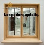 Plastikinių langų  ir durų apdailą.