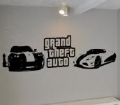 Grand theft auto wall art deal