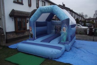 Rent Frozen Bouncing castle in Dublin