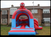 Rent Hire Spider Bouncing castle in Dublin
