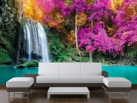 TROPICAL WATERFALL WALL MURAL FOR YOUR HOME