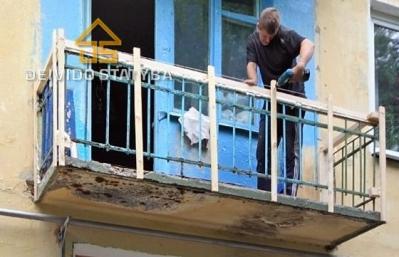Remontuojame,skardiname balkonus.