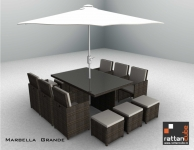 12 Seater Marbella Grande Sofa Set For Your Home And Garden
