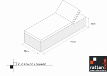 Florence Lounger For Your Garden Free Space