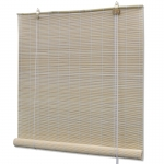 Natural Bamboo Roller Blinds 80 x 160 cm (241320)