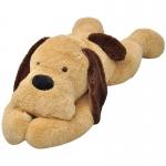 vidaXL Dog Cuddly Toy Plush Brown 120 cm (80143)