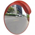 Convex Traffic Mirror PC Plastic Orange 60 cm Outdoor (141681)