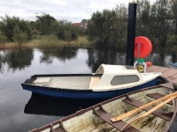 FOR RENT - boat with engine in Shannonbridge, 50e.