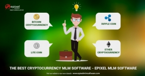 A Cryptocurrency based MLM Software for the digital world!