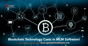 Blockchain technology casts in MLM Software!