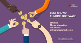 Crowdfunding and Donation MLM Plan Software
