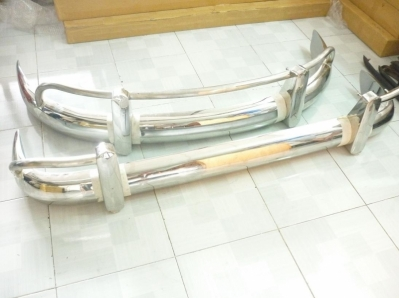 Volkswagen Bus T1 EU Style, US Style Stainless Steel Bumpers