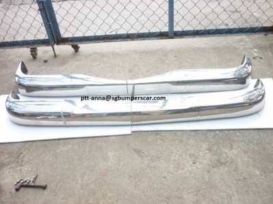 Mercedes benz W110 Stainless Steel Bumpers for your car