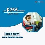 Return flight Chicago- Toronto $266