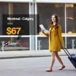 Book Return flight Vancouver- Calgary $67