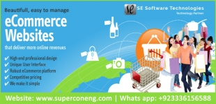 E-Commerce Web Desgining and Development Services