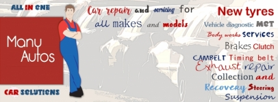 Car Servicing Repair & MOT Center, Garage in Reading | Many Auto