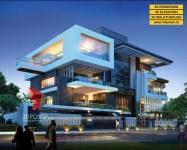 3D Bungalow Rendering & Walkthrough Services by 3D Power