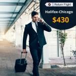 Cheap Air Tickets Return Flight Halifax-Chicago $430