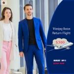 Cheap Air Tickets Return Flight Winnipeg-Boston $300