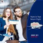 Cheap Air Tickets Return Flight Regina-Las Vegas $353