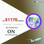 Cheap Air Tickets Return Flight Edmonton- Dubai  $1170