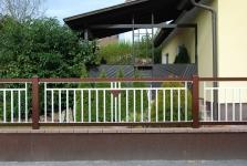 Aluminum fences and gates model TUSCANY