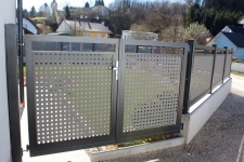 Aluminum fences and gates model WARSAW