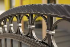 Aluminum fences and gates model NOSTALGIA