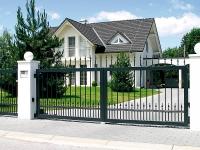Aluminum fences and gates model VENEZIA
