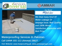 Universal Services Provides Every Type of Leakage Solution, Water Proofing Services in Pakistan